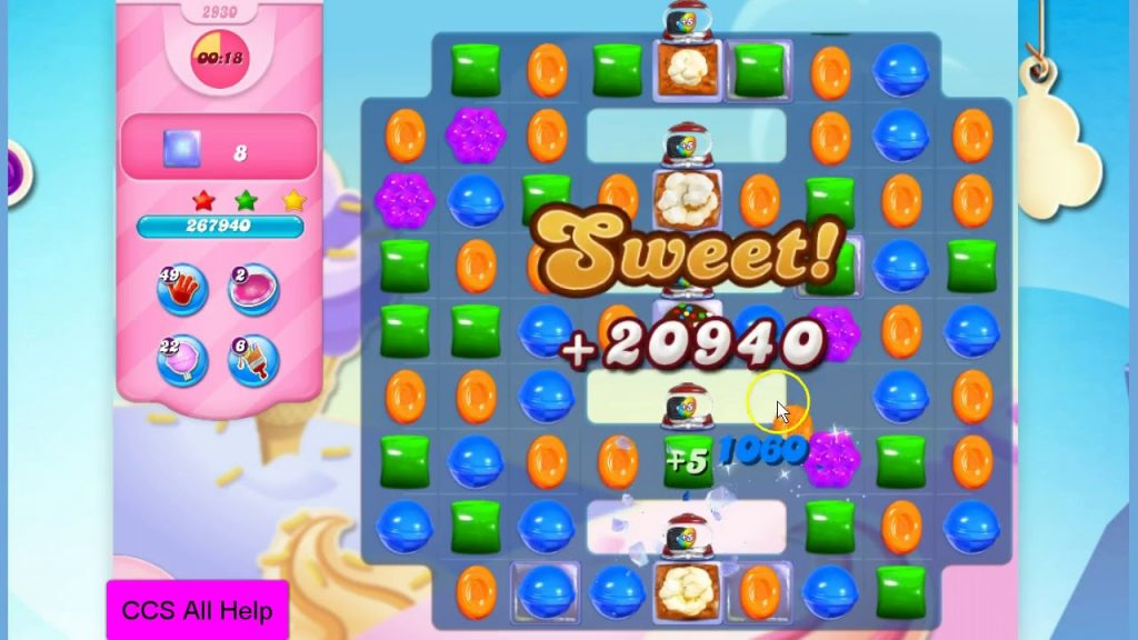 Candy Crush Saga Level Help
