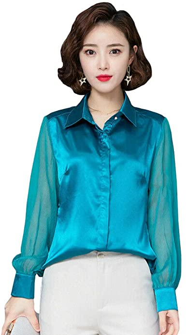 Womens Silk Blouse